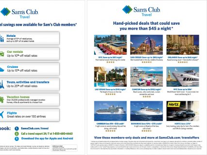 Sam's Club Flyer