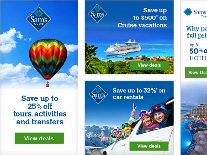Web Banners – Travel