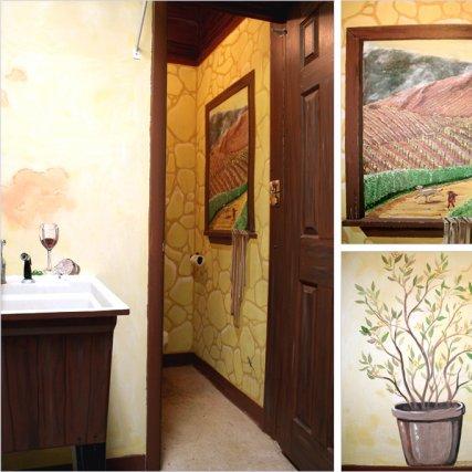 Mural – Men's Room