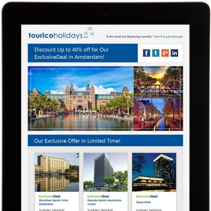 Email Promotion – Travel