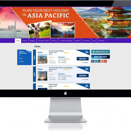 Landing Page – Asia Pacific