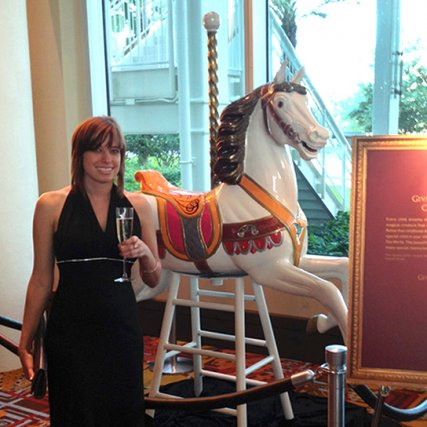 Refinished Carousel Horse
